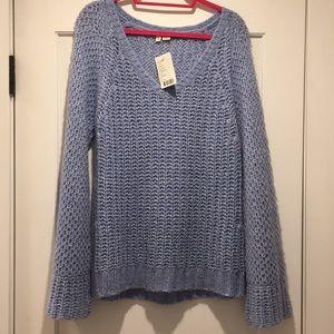 Lavender Moth Belle Sleeve Sweater